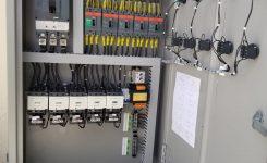 Panel de Control 5x40HP Sistema de Bombeo